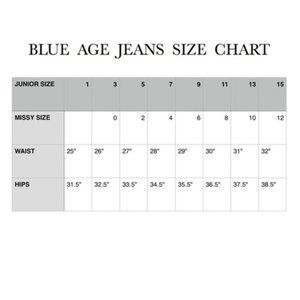 Blue Age Jeans - High Waist White Jeans w/ Butt Lift